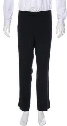 Ralph Lauren Black Label Flat Front Tuxedo Pants