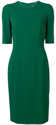 Dolce & Gabbana fitted shortsleeved dress