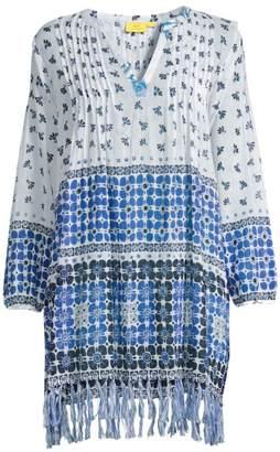 Roller Rabbit Marble Ziva Printed Tunic Dress