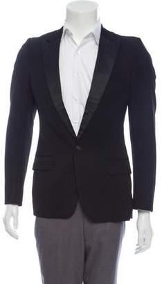 Christian Dior Peaked-Lapel Tuxedo Jacket