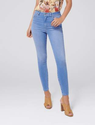 Forever New Kaia High Rise Crop Jeans - Amethyst - 16
