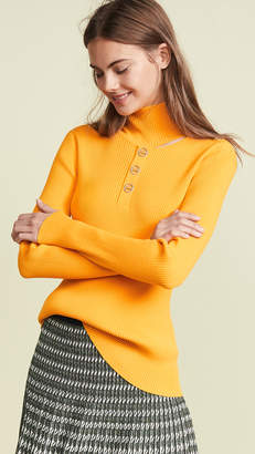 Dion Lee Rib Button Sweater