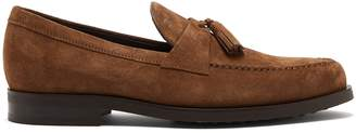 Tod's Tasselled suede penny loafers