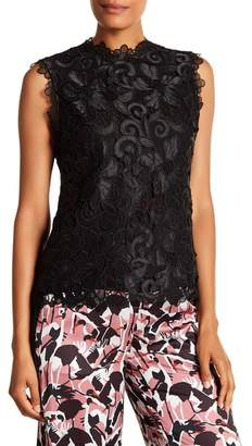 Ted Baker Lace Scallop Sleeveless Tank