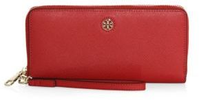 Tory Burch Perry Passport Leather Continental Wallet $195 thestylecure.com