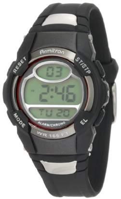 Armitron Sport Unisex 45/6975RED Chronograph Digital Watch