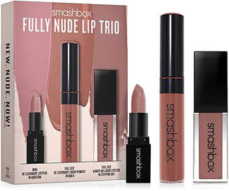 Smashbox 3-Piece Fully Nude Lip Trio Set