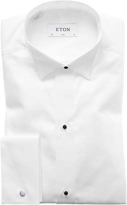 Eton Slim Fit Wing Collar Dress Shirt