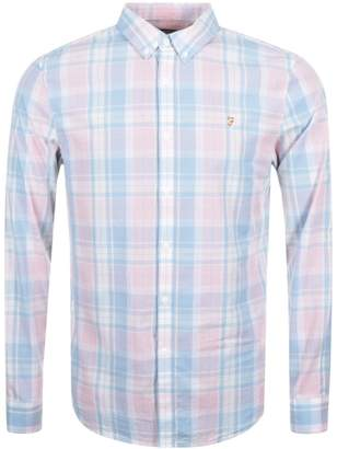 Farah Ashtead Check Shirt Pink