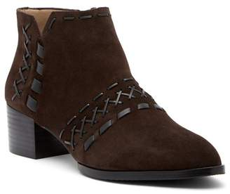 Donald J Pliner Bowery Suede Stitched Bootie