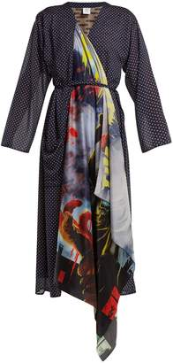 Vetements Scarf robe dress