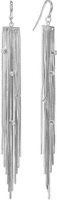 JLO by Jennifer Lopez simulated crystal fringe drop earrings