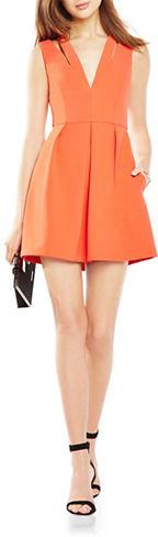 BCBGMAXAZRIABcbgmaxazria Pleated Stretch-Crepe Cutout Dress