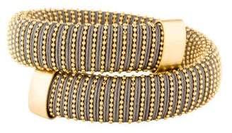 Carolina Bucci Gunmetal Lurex Caro Bracelet