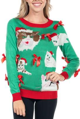 Tipsy Elves Crazy Cat Lady Sweater