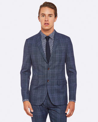 Oxford Larkin Wool Blend Checked Blazer