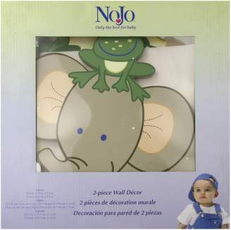 NoJo 2 Piece Wooden Wall Art