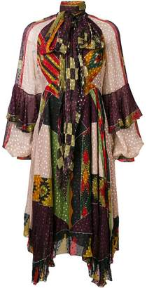 Etro printed flared dress