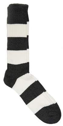 Corgi Rugby Sock in Charcoal