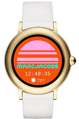 Marc Jacobs Women's Riley Stainless Steel and Silicone Smartwatch