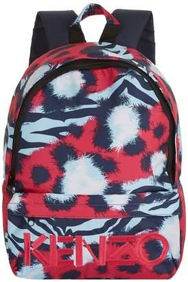 Kenzo Splash Print Backpack