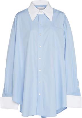 Matthew Adams Dolan Oversized Cotton Oxford Shirt