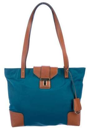 Tory Burch Leather-Trimmed Tote