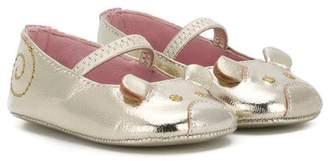 Little Marc Jacobs mouse ballerina shoes