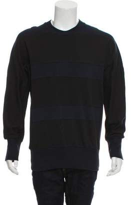 Y-3 Striped Crew Neck Sweatshirt w/ Tags