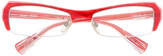 Alain Mikli striped glasses
