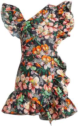 Isabel Marant Malvern ruffle-trimmed floral-print dress