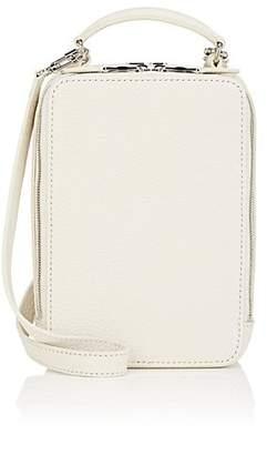 Sonia Rykiel Women's Pavé Parisien Leather Shoulder Bag - White