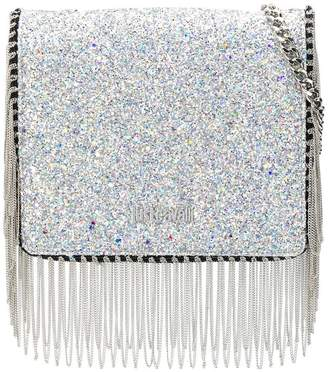 Just Cavalli chain tassel glitter crossbody