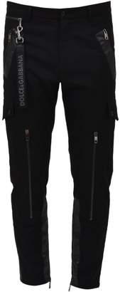 Dolce & Gabbana Black Gabardine Pants