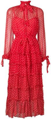 Zimmermann sheer polka dot dress