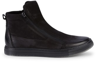 Kenneth Cole Double Zip High-Top Sneakers