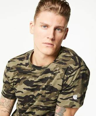 Todd Snyder + Champion Camo Tee in Olive