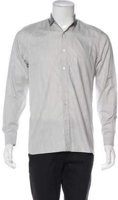 Lanvin Knit Dress Shirt
