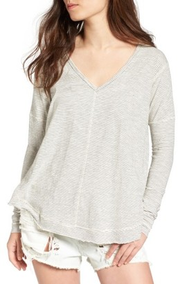 Women's Bp. Seamed Long Sleeve Tee $35 thestylecure.com
