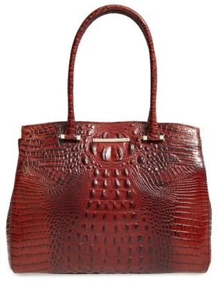 Brahmin Melbourne Alice Leather Tote - Brown $345 thestylecure.com