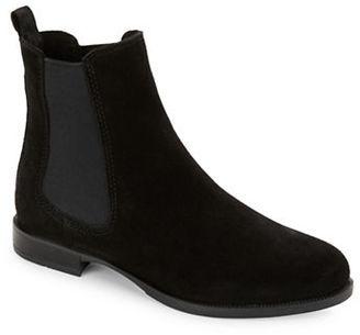 La Canadienne Lilah Suede Chelsea Boots $240 thestylecure.com