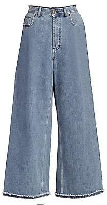 Acne Studios Women's Phelina Denim Trousers