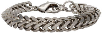 Balenciaga Silver Chain Set Bracelet