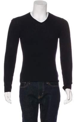 John Varvatos Wool & Cashmere V-Neck Sweater