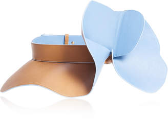 DELPOZO Two-Tone Frill Leather Belt