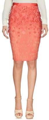 Elisabetta Franchi GOLD Knee length skirt