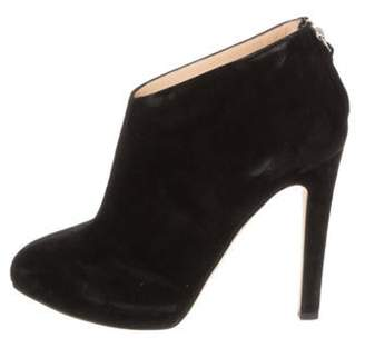 Barneys New York Barney's New York Suede Ankle Boots Black Barney's New York Suede Ankle Boots