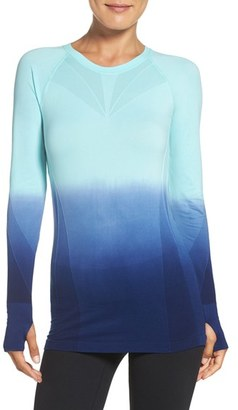 Women's Climawear Dip Dye Long Sleeve Top $48 thestylecure.com