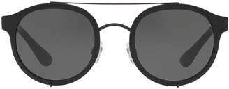 Dolce & Gabbana Dg2184 50 Black Square Sunglasses