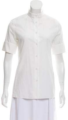 Acne Studios Short Sleeve Button-Up Top w/ Tags